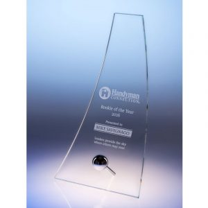 Starphire Crystal Contemporary Glide Award