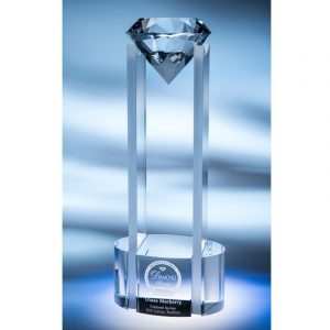 Sky Reaching Diamond Crystal Award