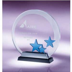 Starward Disc Optical Crystal Award