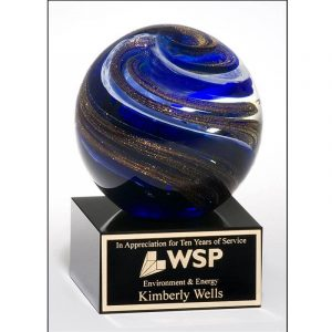 Hurricane Art Glass Special Recognition Award