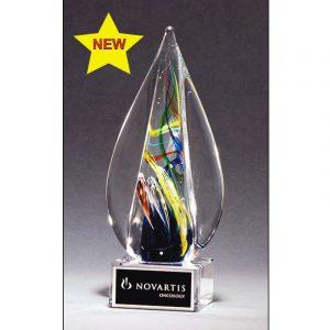 Fontana Variegated Art Glass Award