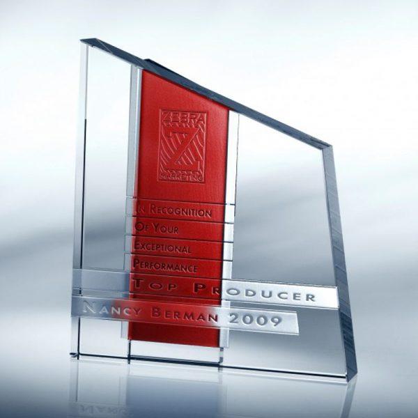 Chroma Colors Optical Crystal Award
