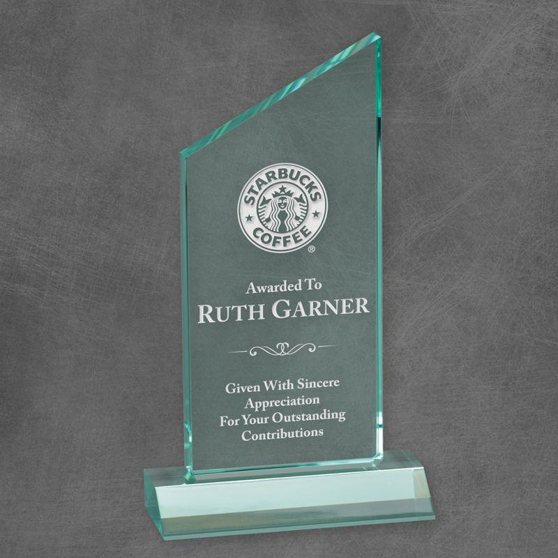 Peak Jade Acrylic Award