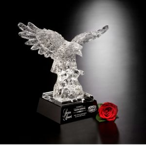 Majestic Crystal Eagle Service Award