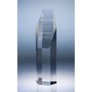 Pillar Optical Crystal Award