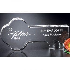 Optical Crystal Key Award