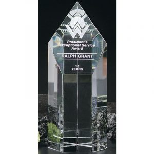 Summit Tower Optical Crystal Award