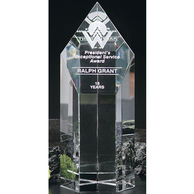 Summit Tower Optical Crystal Award Awardmakers