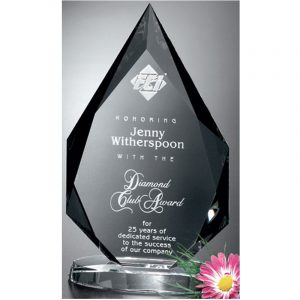Paragon Diamond Optical Crystal Award