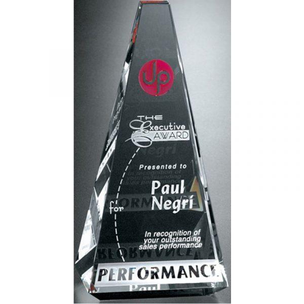 Optical Crystal Vantage Peak Award