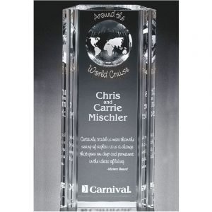 Optical Crystal Capricorn Global Award