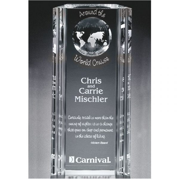 Optical Crystal Capricorn Global Award