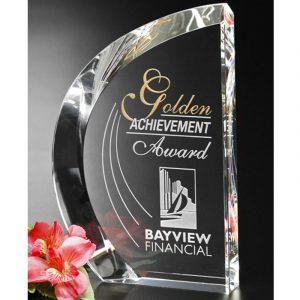 Optical Crystal Regatta Sail Award