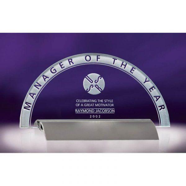 Branscom Horizon Jade Crystal Award