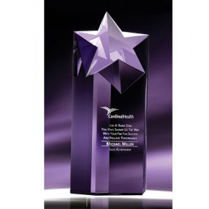 Rising Star Optical Crystal Star Award