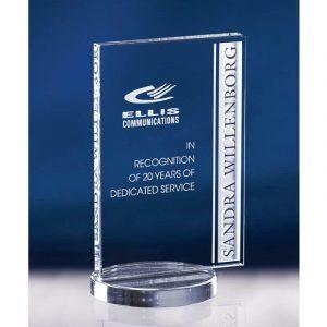 Avante Starphire Crystal Appreciation Award