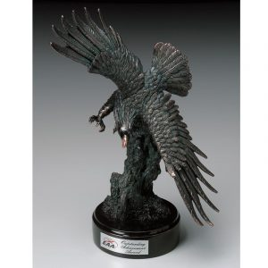 Beautiful Sculpted Resin American Eagle Award