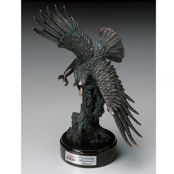 Beautiful Sculpted Resin American Eagle Award