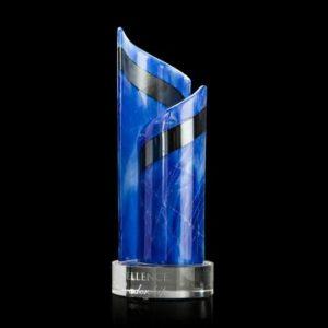 Blue Shadow Dancer Art Glass Award