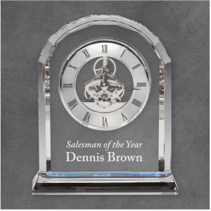 Briarwood Crystal Clock Award