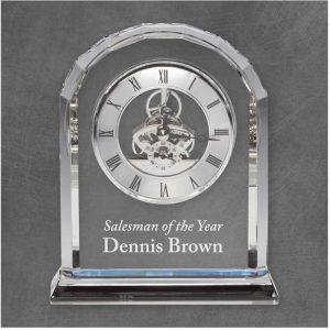 Briarwood Crystal Clock Award