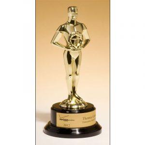 Classic Achievement Cast Metal Goldtone Award