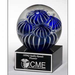 Ocean Floor Dreams Art Glass Award
