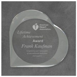 Heart Acrylic Award