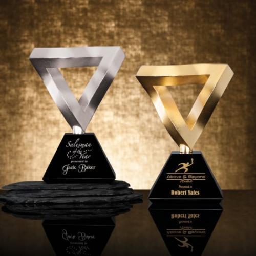 Cast Metal Mithra Triangle Award