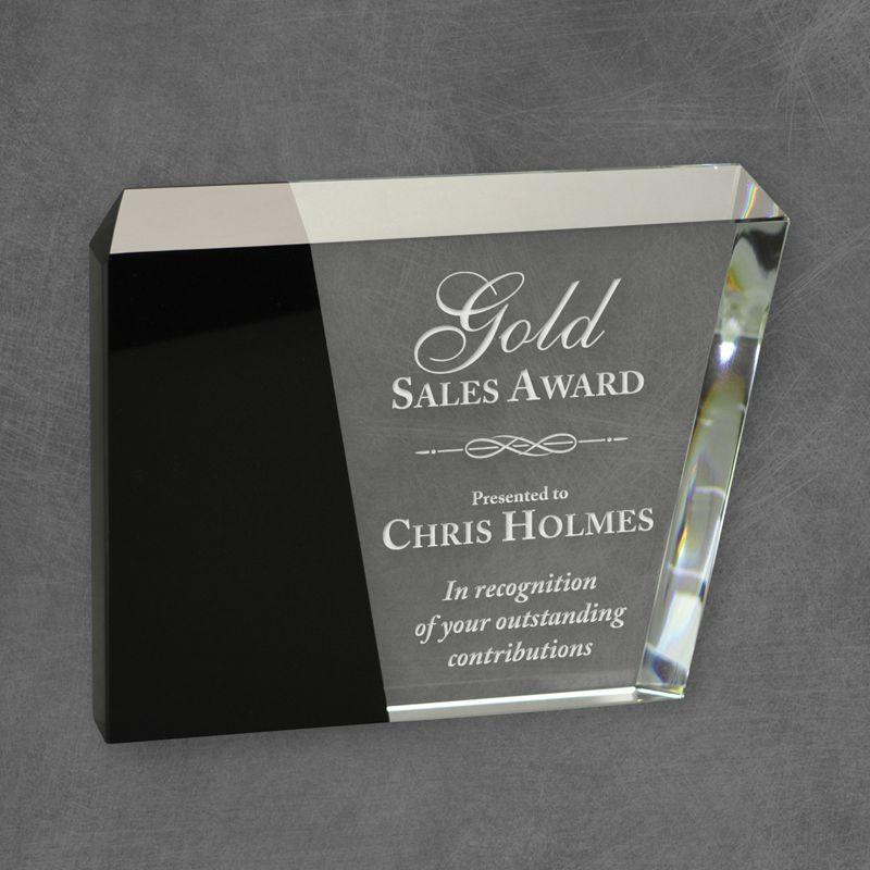 Bayshore Black Eclipse Crystal Award