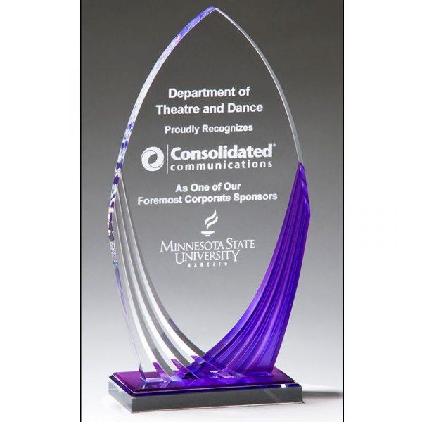 Purple Series Acrylic Award