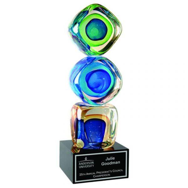 Building Blocks Art Glass Achievement Award