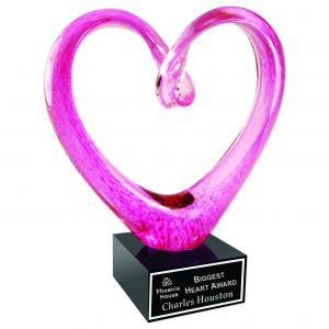 Big Heart Art Glass Award