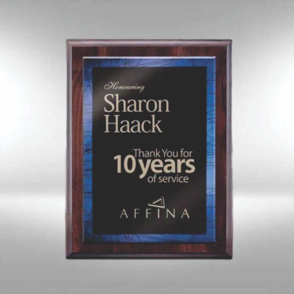 Arlington Laser Engraved Color Acrylic Award Plaque