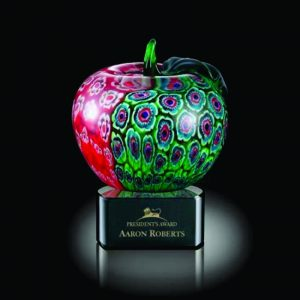 Arcadia Apple Education Art Glass Award