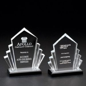 Jewel Reflections Arrow Acrylic Award
