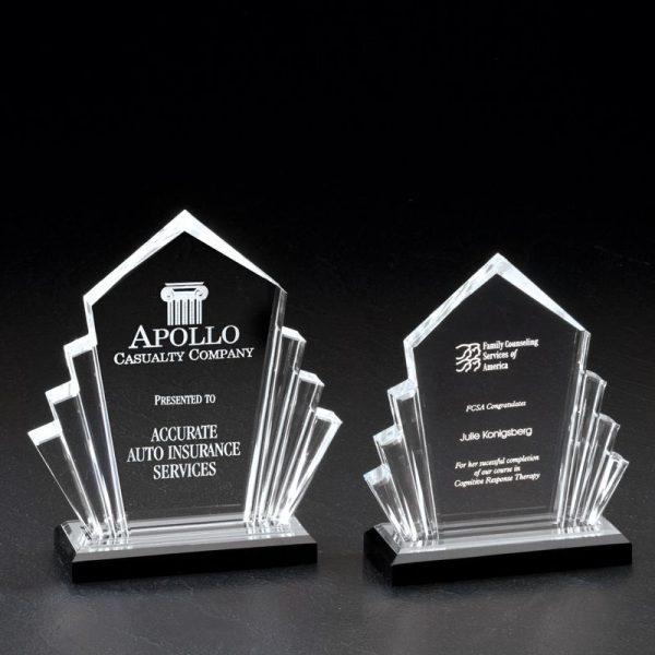 Jewel Reflections Arrow Acrylic Award