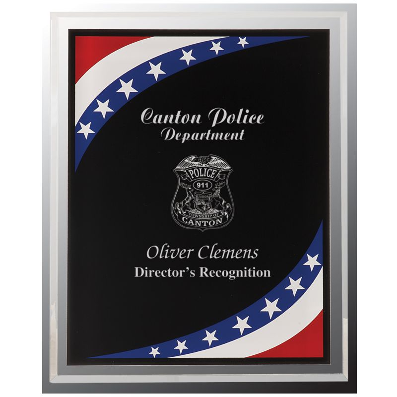 Patriot Stars Stripes Acrylic Plaque