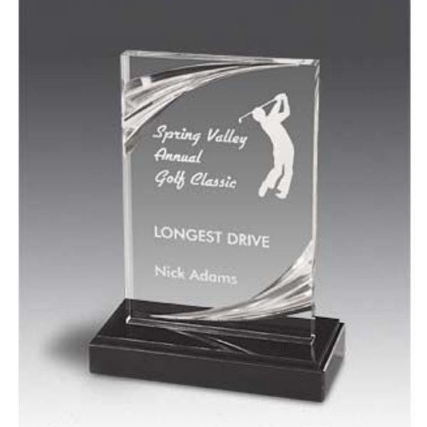 Arlington Diamond Carved Acrylic Award