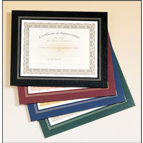 Leatherette Certificate Holder Frame