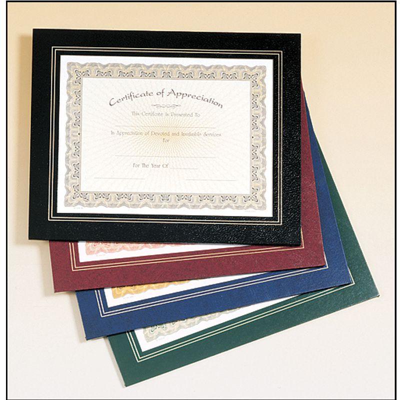 Leatherette Certificate Holder Frame