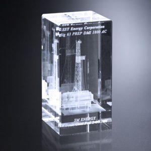 Chapin 3D Optical Crystal Award