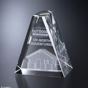 Avondale 3D Crystal Award