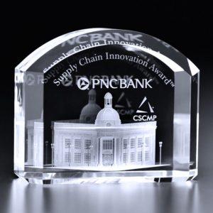 Mercer 3D Crystal Award