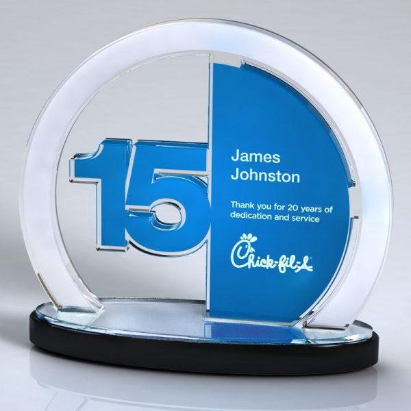 Acrylic Service Achievement Award
