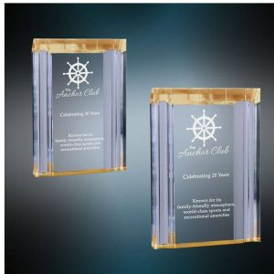 Lancaster Channel Acrylic Award