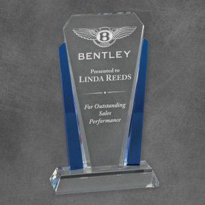 Blue Crystal Tower Award