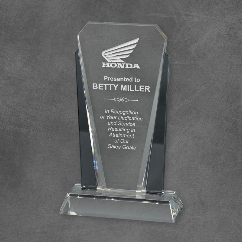 Bethesda Graphite Crystal Tower Award