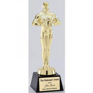 Gold Achievement Cast Metal Award