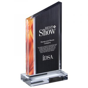 Chatworth Deco Style Acrylic Award